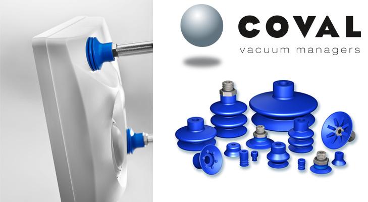 Les ventouses COVAL en Siton pour la manipulation de pièces plastiques chaudes. #plasturgie #siton #Coval