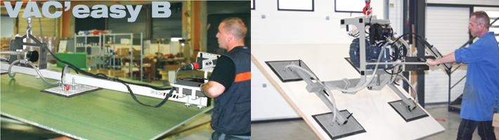 Une gamme d'appareil dédiée à la manipulation de panneaux de 90 à 540 kg