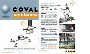 Triptyque COVAL Déparetement Systems