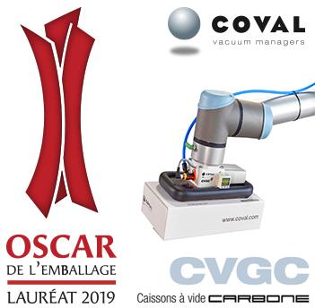 Le CVGC récompensé aux Oscars de l'Emballage 2019 !