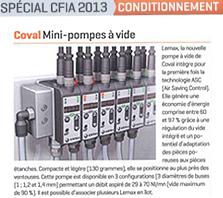 Mini-pompe à vide LEMAX