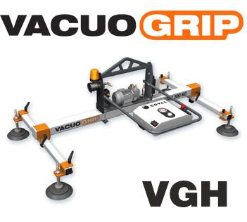 manutention par le vide de tôles à plat, VACUOGRIP COVAL série VGH - palonnier à ventouses